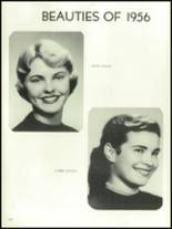 1956 Mansfield High School Yearbook Page 158 & 159