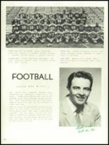 1956 Mansfield High School Yearbook Page 162 & 163