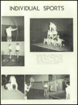 1956 Mansfield High School Yearbook Page 190 & 191