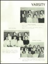 1956 Mansfield High School Yearbook Page 194 & 195