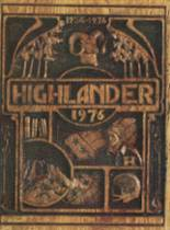 1976 Highland High School Yearbook Page 0 & 1