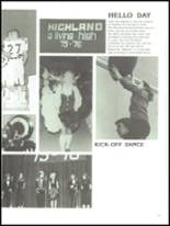 1976 Highland High School Yearbook Page 170 & 171