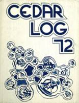 1972 Yearbook Cedar Cliff High School