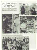 1967 Central High School Yearbook Page 54 & 55