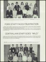 1967 Central High School Yearbook Page 84 & 85