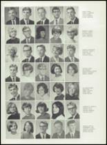 1967 Central High School Yearbook Page 92 & 93