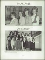 1967 Central High School Yearbook Page 124 & 125