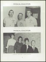 1967 Central High School Yearbook Page 134 & 135