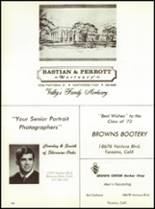 1972 Crespi Carmelite High School Yearbook Page 152 & 153