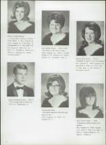 1968 Filer High School Yearbook Page 20 & 21
