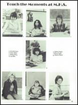 1984 McCamey High School Yearbook Page 16 & 17