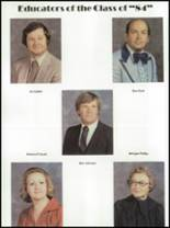 1984 McCamey High School Yearbook Page 36 & 37