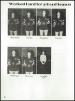 1984 McCamey High School Yearbook Page 72 & 73