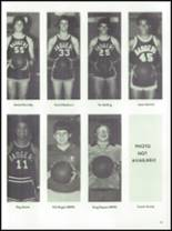 1984 McCamey High School Yearbook Page 74 & 75