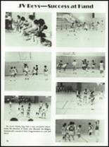 1984 McCamey High School Yearbook Page 80 & 81