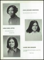 1974 Ellis School for Girls Yearbook Page 44 & 45