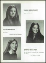 1974 Ellis School for Girls Yearbook Page 50 & 51