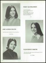 1974 Ellis School for Girls Yearbook Page 52 & 53