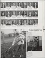 2003 Laingsburg High School Yearbook Page 86 & 87