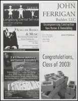 2003 Laingsburg High School Yearbook Page 158 & 159