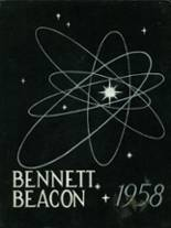 1958 Yearbook Bennett High School 200