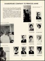 1966 Princess Anne High School Yearbook Page 32 & 33