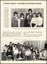 1966 Princess Anne High School Yearbook Page 92 & 93