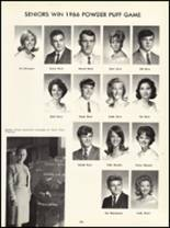1966 Princess Anne High School Yearbook Page 186 & 187