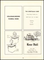 1966 Princess Anne High School Yearbook Page 232 & 233