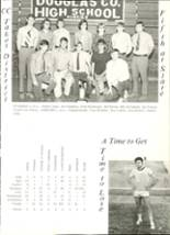1971 Douglas County High School Yearbook Page 30 & 31