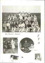 1971 Douglas County High School Yearbook Page 56 & 57