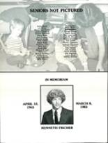 1983 Churchill Area High School Yearbook Page 52 & 53