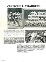 1983 Churchill Area High School Yearbook Page 134 & 135