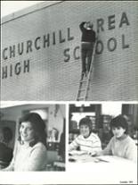 1983 Churchill Area High School Yearbook Page 226 & 227