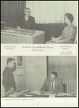 1960 Rockville High School Yearbook Page 12 & 13