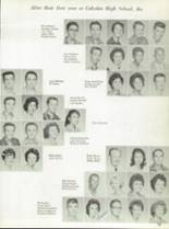 1962 Cahokia High School Yearbook Page 86 & 87