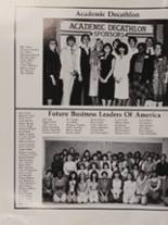 1982 Mt. Pleasant High School Yearbook Page 180 & 181