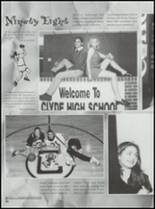 1998 Clyde High School Yearbook Page 26 & 27