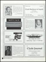 1998 Clyde High School Yearbook Page 204 & 205