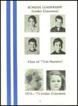 1973 Palm Beach Day School Yearbook Page 28 & 29