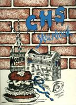 1984 Yearbook Crestline High School