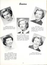1954 Willshire High School Yearbook Page 16 & 17