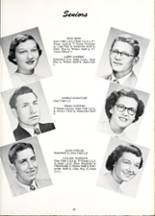 1954 Willshire High School Yearbook Page 20 & 21
