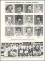 1980 Broken Bow High School Yearbook Page 32 & 33