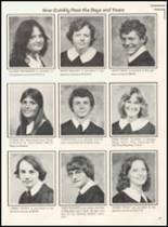 1980 Broken Bow High School Yearbook Page 42 & 43