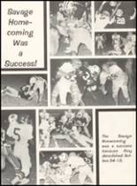 1980 Broken Bow High School Yearbook Page 108 & 109