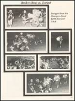 1980 Broken Bow High School Yearbook Page 112 & 113