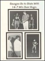 1980 Broken Bow High School Yearbook Page 116 & 117