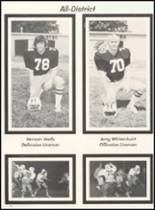 1980 Broken Bow High School Yearbook Page 126 & 127
