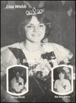 1980 Broken Bow High School Yearbook Page 154 & 155